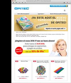 Oferta semanal por internet