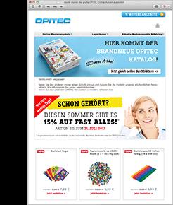 Newsletter und Online-Angebote