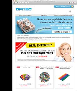Le Newsletter d'OPITEC