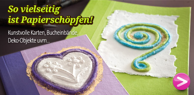 So vielseitig ist Papierschpfen!