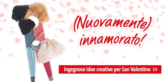 Ingegnose idee creative per San Valentino