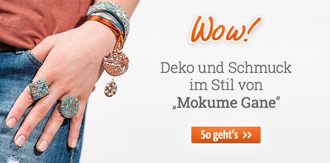 Wow! Deko und Schmuck im Stil von Mokume Gane