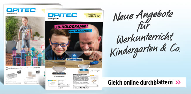 Neue Angebote f�r Werkunterricht, Kindergarten & Co.