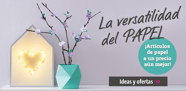 La versatilidad del PAPEL - �Art�culos de papel a un precio a�n mejor!