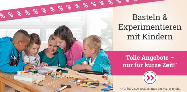 Basteln &  Experimentieren mit Kindern
