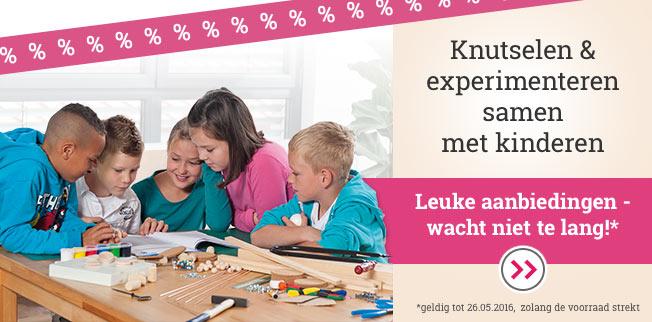Knutselen & experimenteren samen met kinderen