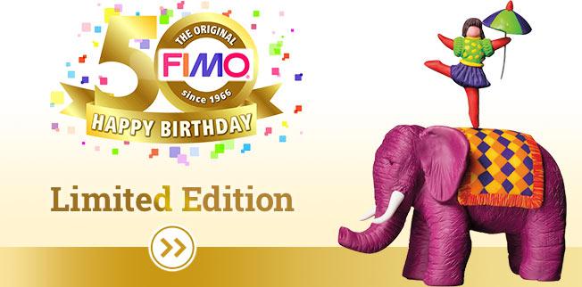 FIMO� - de ovenhardende klei is nu al sinds 50 jaar de boetseerklei voor de hele familie!