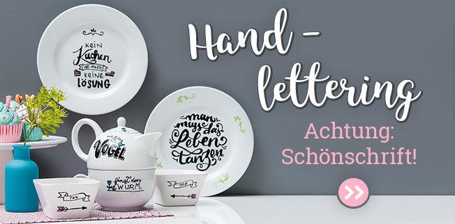 Handlettering - Achtung: Sch�nschrift!