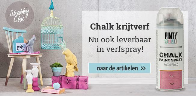 Chalk krijtverf - Nu ook leverbaar in verfspray!