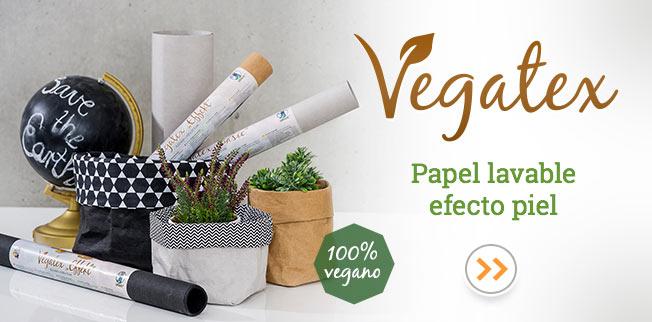 Vegatex - Papel lavable efecto piel!