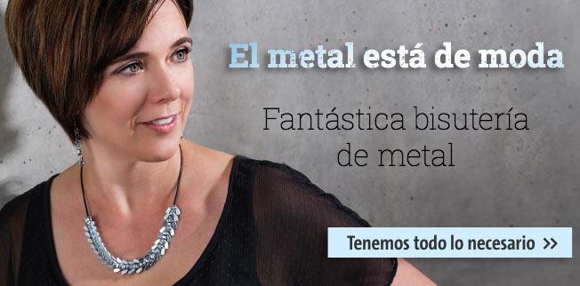 El metal est� de moda - fant�stica bisuter�a de metal!