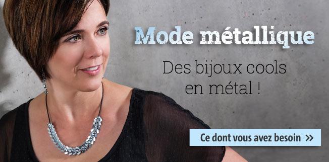 Mode m�tallique - Des bijoux cools en m�tal!