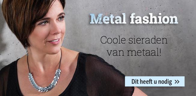 Metal fashion - Coole sieraden van metaal!