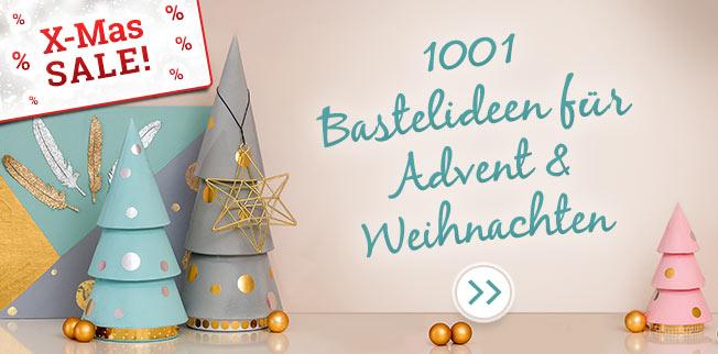 1001 Bastelideen - Großer X-Mas SALE!