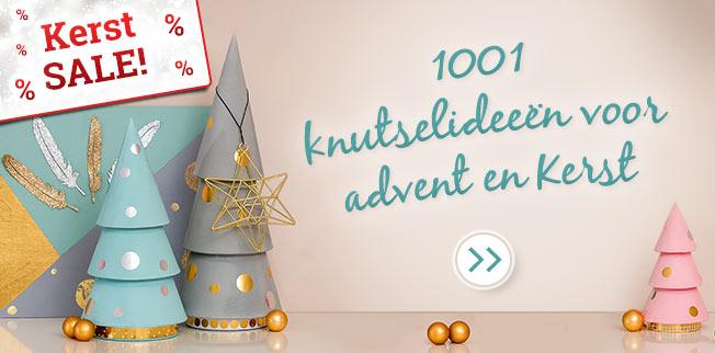 1001 knutselideeën - Kerst SAL
