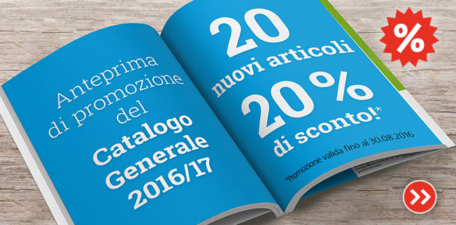 20 nuovi articoli - 20% di sconto!