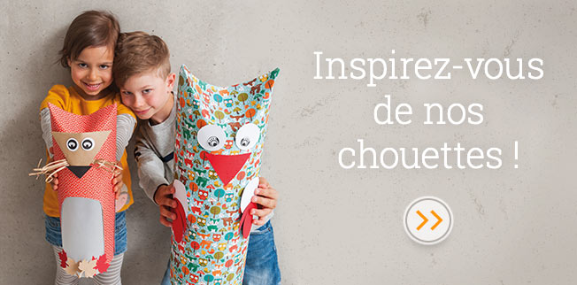 Inspirez-vous de nos chouettes !