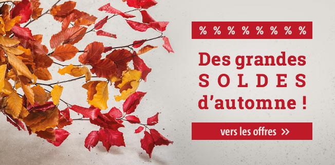 Des grandes SOLDES d'automne !