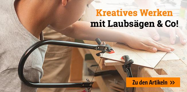 Kreatives Werken mit Laubsägen & Co!