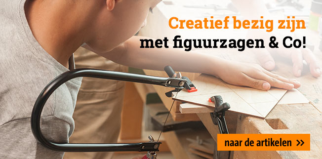Creatief bezig zijn met figuurzagen & Co!