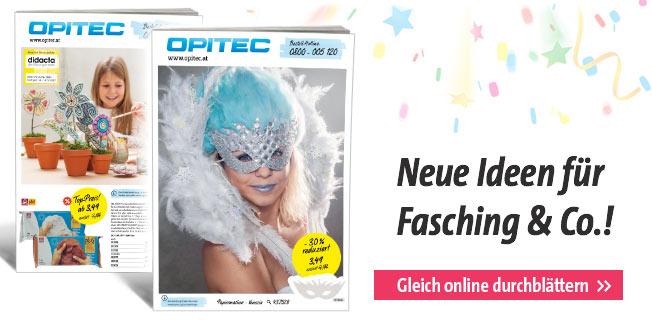 Neue Ideen für Fasching & Co.!