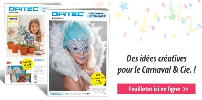 Des idées créatives pour le Carnaval &Cie. !