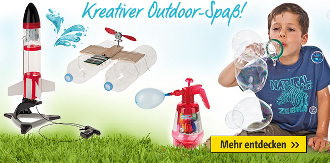 Kreativer Outdoor-Spaß