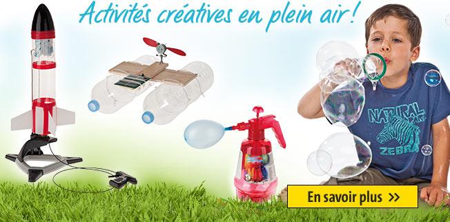 Activités créatives en plein air!