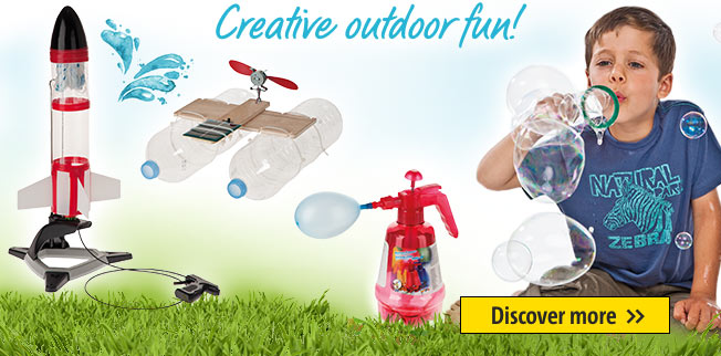 Creative outdoor fun!