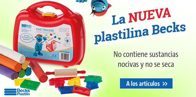 La NUEVA plastilina Becks : No contiene sustancias nocivas y no se seca