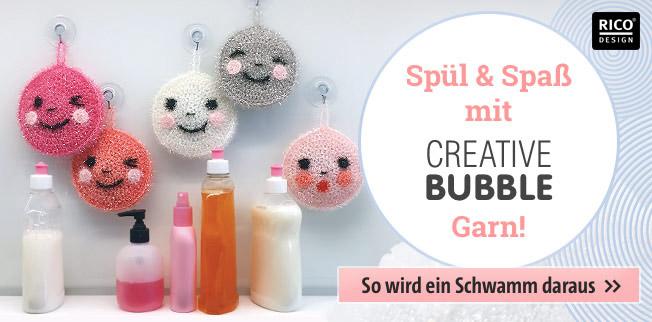 Spül & Spaß mit Creative Bubble Garn
