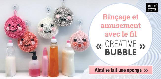 Rinçage et amusement avec le fil Creative Bubble
