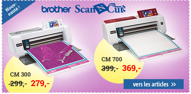 Brother ScanNCut CM300 et CM700