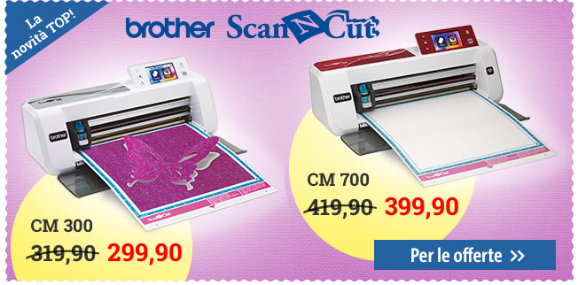 Brother ScanNCut CM300 e CM700