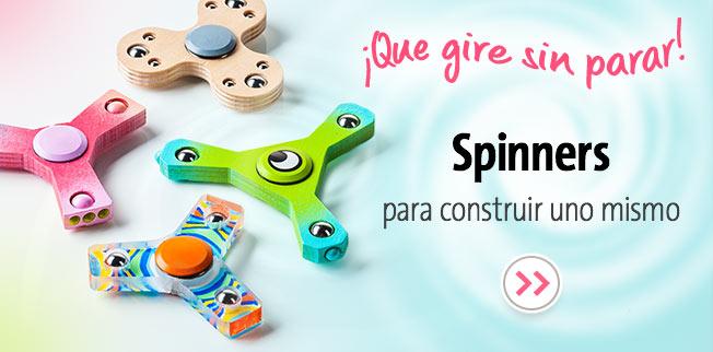 Spinners para construir uno mismo