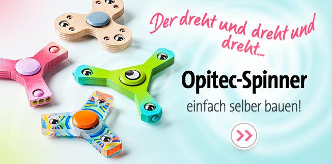 OPITEC Spinner einfach selber bauen!