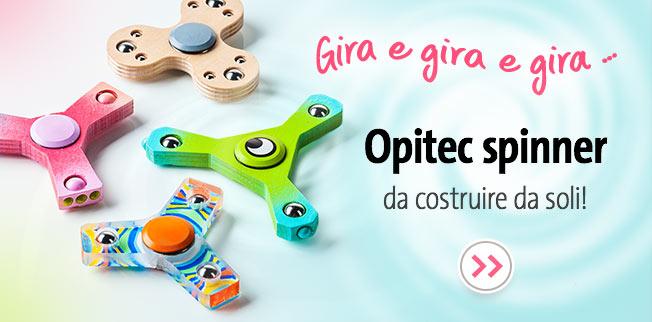 OPITEC spinner da costruire da soli!
