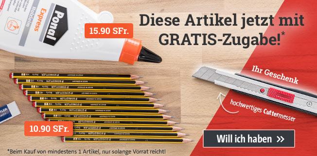 Aktion Staedtler - GRATIS Cuttermesser