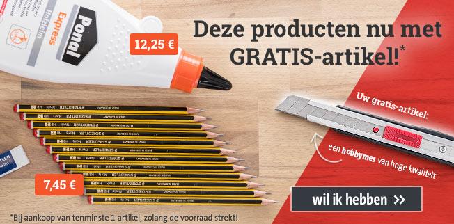 Actie Staedtler: Deze producten nu met GRATIS-artikel