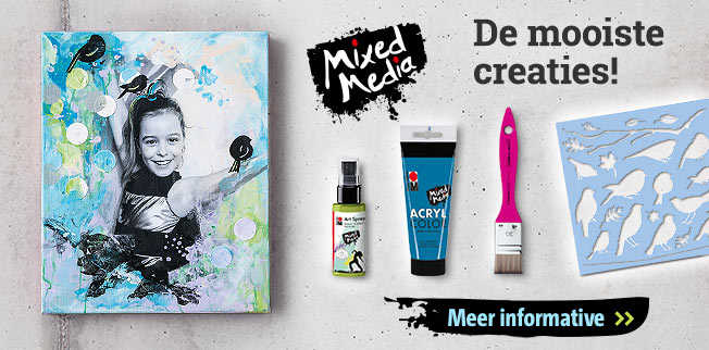 Mixed Media - De mooiste creaties!