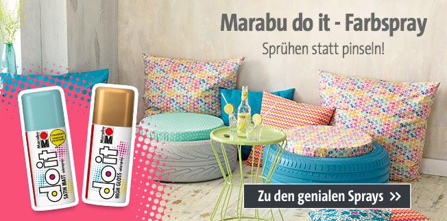 Marabu do it - Farbspray: Sprühen statt pinseln!
