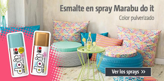 Esmalte en spray Marabu do it - Color pulverizado