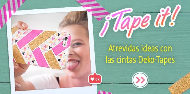 ¡Tape it! Atrevidas ideas con las cintas Deko-Tapes