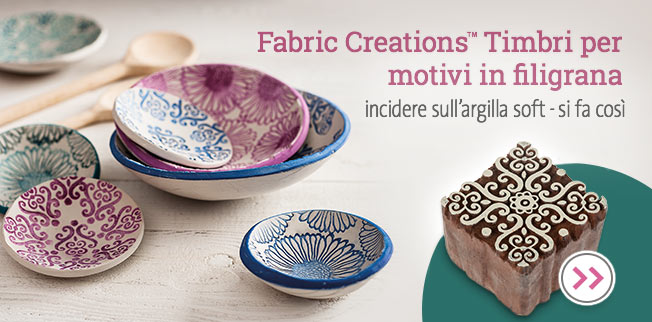Fabric Creations-Timbri per motivi in filigrana