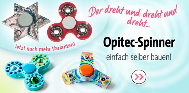 OPITEC-Spinner einfach selber bauen ! Jetzt noch mehr Varianten!
