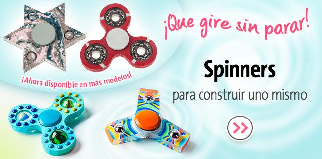 Spinners para construir uno mismo - ¡Ahora disponible en más modelos!