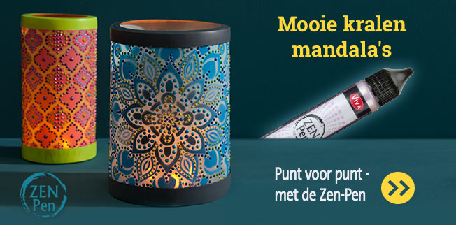 Mooie kralen mandala's! Punt voor punt - met de Zen-Pen!