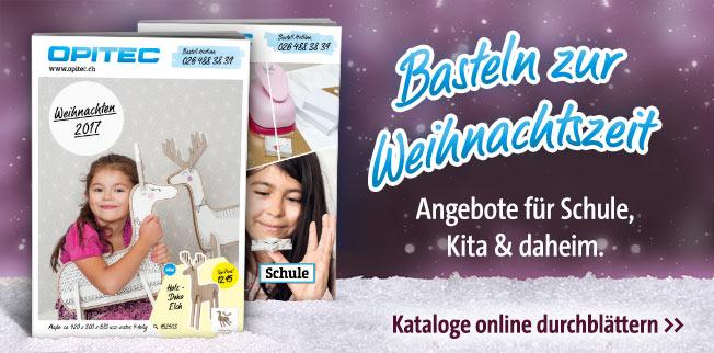 Basteln zur Weihnachtszeit - Angebote für Schule, Kita & daheim!
