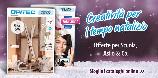 Creatività per il tempo natalizio - Offerte per Scuola, Asilo & Co.!
