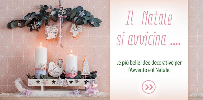 Il Natale si avvicina ... Le più belle idee decorative per l'Avvento e il Natale!